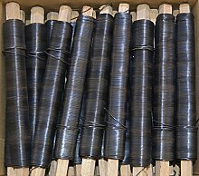 Bindedraht, Wickeldraht, Blumendraht, Draht blau/schwarz geglüht, Stärke 0,70mm (75)