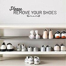 bingcheng Bitte Entfernen Sie Ihre Schuhe Vinyl