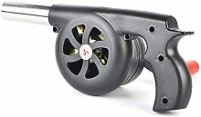 Bingchuan Handkurbel-Grillventilator - Tragbarer