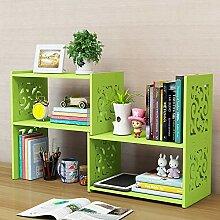 BINGFENG Regal einziehbar Bücherregal