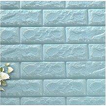 Binglinghua® 1003D Brick Wand-Aufkleber