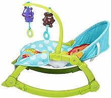 Binglinghua Tragbarer Baby-Schaukelstuhl, Wiege,