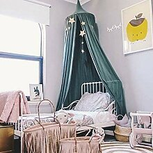 BINGMAX Baby Betthimmel Bett-Baldachin Chiffon