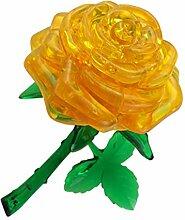 BINGMAX Bausteine 3D Crystal Rose Modell