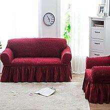 BINGMAX Sofabezug 1/2/3/4 Sitzer mit Armlehnen