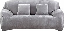 BINGMAX Sofabezug Ausziehbare Samt Sofa Cover mit