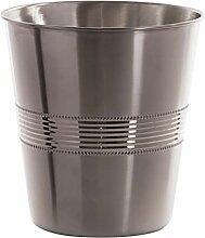 BINO Metall-Mülleimer für Badezimmer,