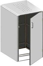 Binto Mülltonnenbox 1er-Box HPL-Grau