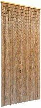 Binzhoueushopping Türvorhang aus Bambus 90 x 200