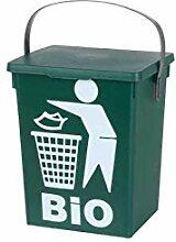 Bio-Abfalleimer Mülleimer | Kunststoff | Deckel |