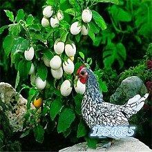 Bio-Garten Gemüsesamen NON-GMO Bio-Tomaten-Pfeffer-Kürbis Gurke Aubergine Karotte Mais Muskmelon Kohlsamen 50pcsEggplantC