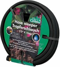 Bio Green Bewässerung Tropferschlauch, dunkelbraun