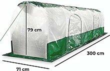 Bio Green Super Dome Folientunnel, Transparent,
