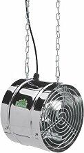 Bio Green Ventilator, 31 W, 460m³/h für Gewächshaus & Wintergarten, IP X4 Spritzwassergeschützt, Edelstahl