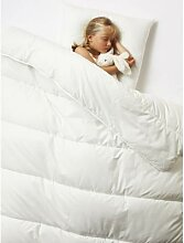 Bio-Kollektion: Bettdecke für Kinder weiß Gr.