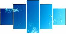 BIOAOUA Kunstdruck Modern Wandbilder5 Kombinierte