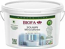 Biofa SOLIMIN Silikat Wandfarbe weiß, 4 Liter