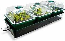 BioGreen Pflanzen-Anzucht-Set Anzuchtstation