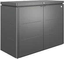 Biohort KISSENBOX, Dunkelgrau, Metall, 160x118x70