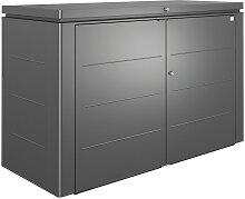 Biohort KISSENBOX, Dunkelgrau, Metall, 200x127x84