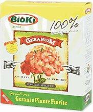 Bioki Geranium Organo-Miner-Dünger für Gerani