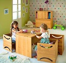 BioKinder 22827 Amelie Kinderbank aus Massivholz Erle 80 x 40 cm