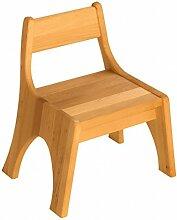 BioKinder 23942 Robin Kindergarten Stapelstuhl Sitzhöhe 30 cm aus Massivholz Erle