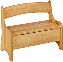 BioKinder 24785 Levin Kindersitzbank aus Massivholz 70 x 36 x 55 cm