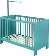BioKinder Set Beistellbett Kinderbett Babybett mit