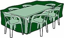 Biotop B2238Schutzhülle rechteckig Deckt Tische und Stühle polyester