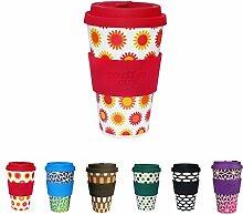 BIOZOYG Farbenfrohe Coffee Cups I Thermo