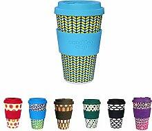BIOZOYG Hochwertiger Kaffeebecher to go Bambus I