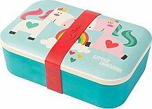 BIOZOYG Kinder Bento Lunchbox aus Bambus I