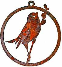 Bird on Willow Window Ornamen