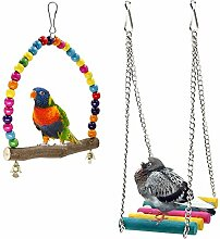 Bird Schaukeln, Rabi Holz Wellensittich Toys Pet