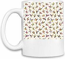 Birds Print Kaffee Becher