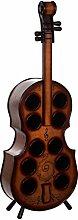 Birendy Riesiges Wein-Regal Violinenoptik JJ0004
