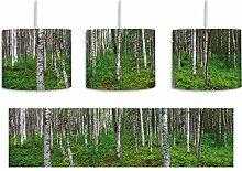 Birkenwald inkl. Lampenfassung E27, Lampe mit
