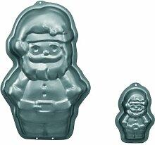 Birkmann 212312 Motivbackform Weihnachtsmann, groß