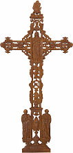 Biscottini - Kreuz aus Gusseisen mit natürlichem