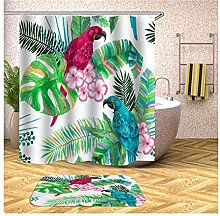 Bishilin Bad Vorhang für Badezimmer 150x180,