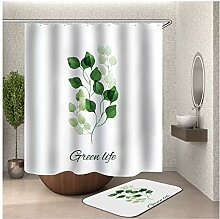 Bishilin Bad Vorhang für Badezimmer 90x180,