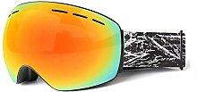 Bishilin Schnee Brille Herren Damen Schutzbrille