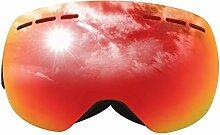 Bishilin Schutzbrille Rotlichtlampe Rot Skibrille
