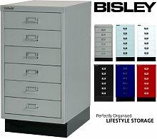 Bisley Schubladenschrank 29 aus Metall   Schrank