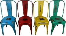 Bistro-Stuhl Esszimmerstuhl Stapelbar