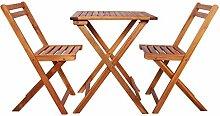 Bistro-Tisch Und Stühle, Gartenmöbel-Set,