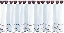 Bistrogardine mit Schlaufen ca. 150x45 cm Auswahl: