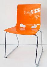 Bistrostuhl NWS Fiondo Kufe orange Vor-Ort-Artikel