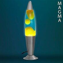 bitblin Magma Lava Lampe für Dekorieren Aufhellung, 25W, grün, 34x 9cm
